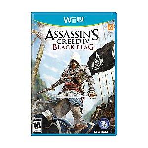 Jogo Assassin's Creed IV: Black Flag - Wii U
