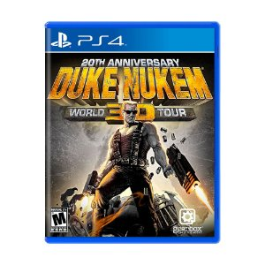 Jogo Duke Nukem 3D: 20th Anniversary World Tour - PS4