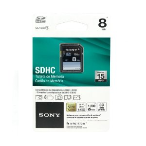 Cartão de Memória SDHC 8 GB - Sony
