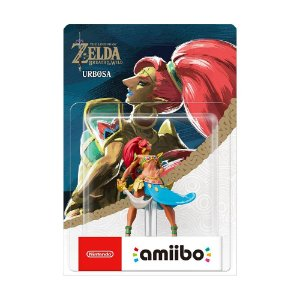 Nintendo Amiibo: Urbosa - The Legend of Zelda: Breath of the Wild - Wii U, New Nintendo 3DS e Nintendo Switch