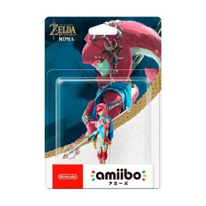 Nintendo Amiibo: Mipha - The Legend of Zelda: Breath of the Wild - Wii U, New Nintendo 3DS e Nintendo Switch