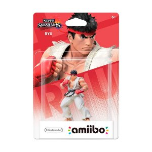 Nintendo Amiibo: Ryu - Super Smash Bros. Collection - Wii U e New Nintendo 3DS