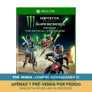 Jogo Monster Energy Supercross (The Official Videogame) - Xbox One