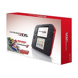 Console Nintendo 2DS Vermelho + Mario Kart 7 - Nintendo