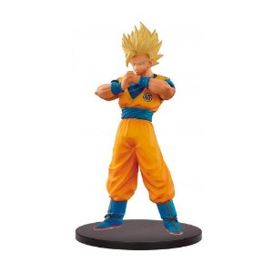 Action Figure Super Saiyan 2 Son Goku (DXF The Super Warriors Vol. 5) Dragon Ball Super - Banpresto