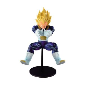 "Action Figure Super Saiyan Vegeta (Super Elite's Final Attack! ""Final Flash"") - Banpresto"