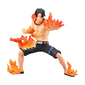 Action Figure Portgas D. Ace (One Piece Abiliators) One Piece - Banpresto