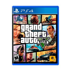 Jogo Grand Theft Auto V (GTA 5) - PS4