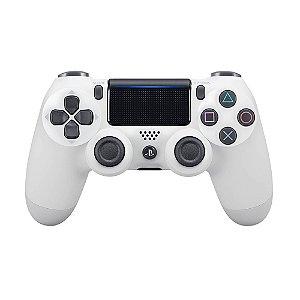 Controle Sony Dualshock 4 Branco sem fio (Com led frontal) - PS4
