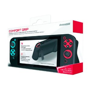 Capa de Silicone Preta dreamGEAR (Comfort Grip) - Switch