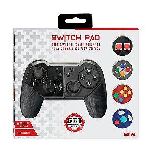 Controle Emio Switch Pad 5 em 1 sem fio - Switch