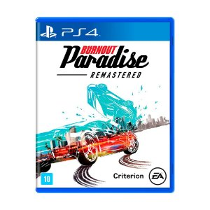 Jogo Burnout Paradise Remastered - PS4