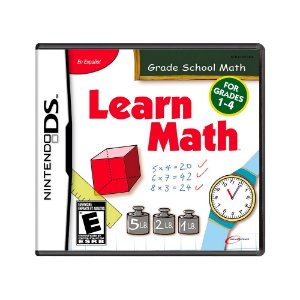 Jogo Learn Math - DS