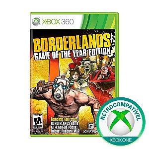 Jogo Borderlands (GOTY) - Xbox 360