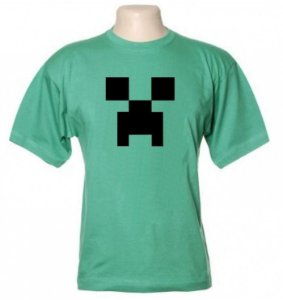 Camiseta Wimza Minecraft - Creeper