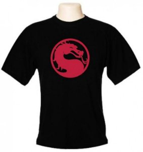 Camiseta Wimza Mortal Kombat