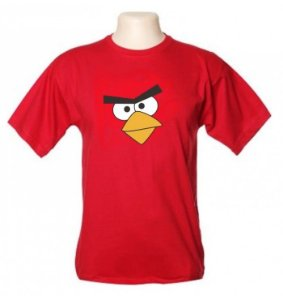 Camiseta Wimza Angry Birds - Mod2