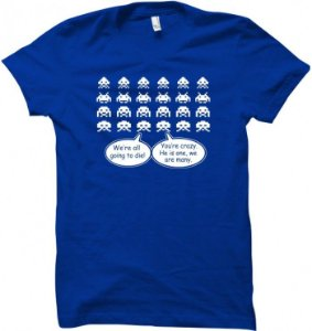 Camiseta Wimza Space Invaders