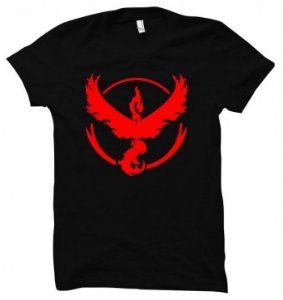 Camiseta Wimza Pokémon Go - Team Valor