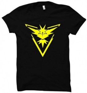 Camiseta Wimza Pokemon Go - Team Instinct
