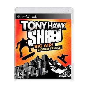 Jogo Tony Hawk: Shred - PS3