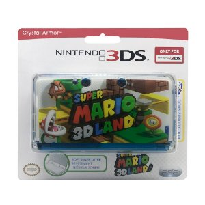 Capa PDP Super Mario 3D Land Crystal Armor - 3DS