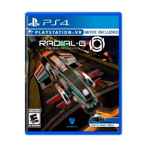 Jogo Radial-G: Racing Revolved - PS4