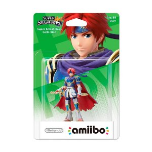 Nintendo Amiibo: Roy - Super Smash Bros. Collection - Wii U e New Nintendo 3DS