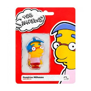 Pen Drive Multilaser The Simpsons: Milhouse 8GB – PC e Mac