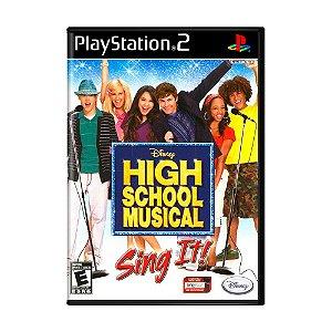 Jogo High School Musical: Sing It! - PS2
