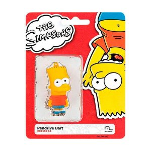 Pen Drive Multilaser The Simpsons: Bart 8GB – PC e Mac