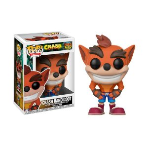 Boneco Crash Bandicoot 273 Crash Bandicoot  - Funko Pop