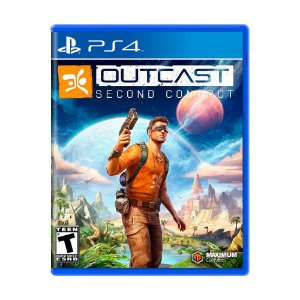 Jogo Outcast: Second Contact - PS4