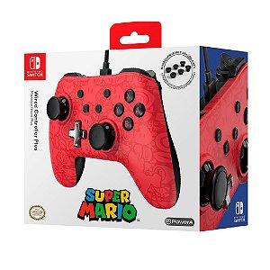 Controle PowerA Plus com fio (Super Mario Edition) - Switch