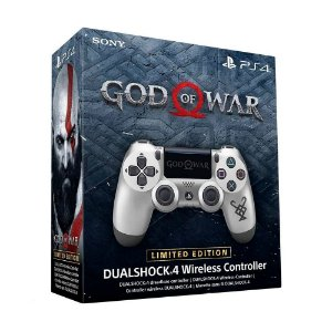 Controle Sony Dualshock 4 God of War Limited Edition sem fio (Com led frontal) - PS4