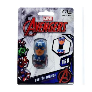 Pen Drive Multilaser The Avengers: Capitão América 8GB – PC e Mac