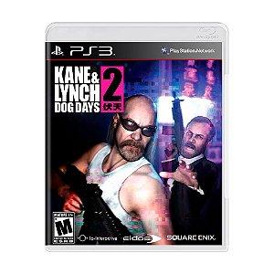 Jogo Kane & Lynch 2: Dog Days - PS3