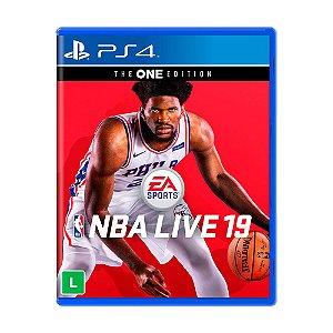 Jogo NBA Live 19 (Edição The One) - PS4