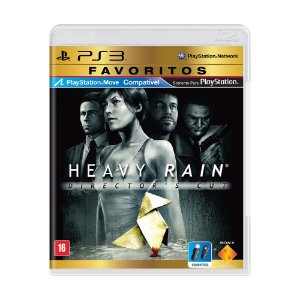 Jogo Heavy Rain (Director's Cut) - PS3
