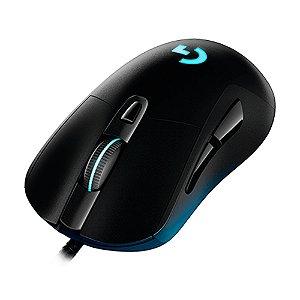 Mouse Logitech G403 12000dpi RGB Preto com fio