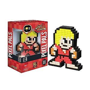 Luminária Pixel Pals Ken 016 Street Fighter - PDP