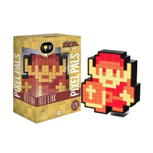 Luminária Pixel Pals Red Link 026 The Legend of Zelda - PDP