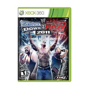 Jogo WWE SmackDown Vs. Raw 2011 - Xbox 360