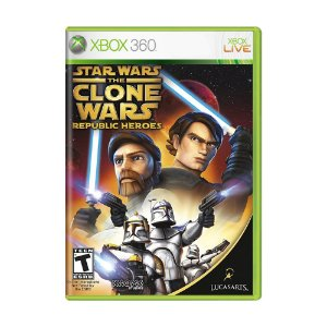 Jogo Star Wars: The Clone Wars – Republic Heroes - Xbox 360
