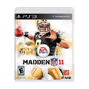 Jogo Madden NFL 11 - PS3