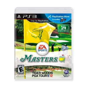Jogo Tiger Woods PGA Tour 12 - PS3