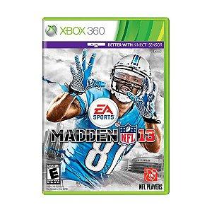 Jogo Madden NFL 13 - Xbox 360