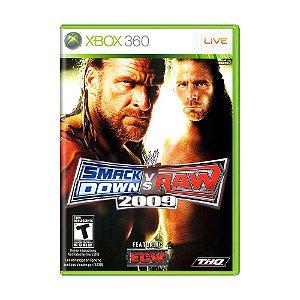 Jogo WWE SmackDown Vs. Raw 2009 - Xbox 360