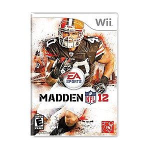 Jogo Madden NFL 12 - Wii