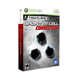 Jogo Tom Clancy's Splinter Cell: Conviction (Collector's Edition) - Xbox 360